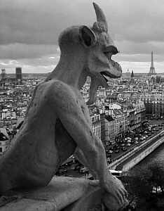picture of grotesque on Notre Dame