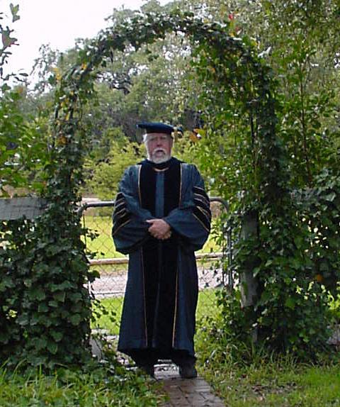 Prof. Bump in Berkeley robes